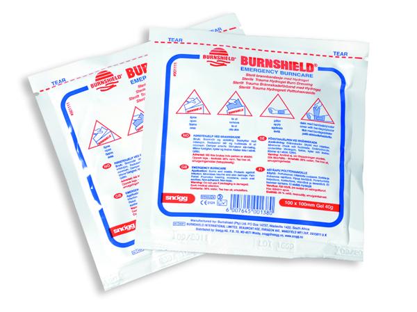 Burnshield Brännskadekompress 10x10